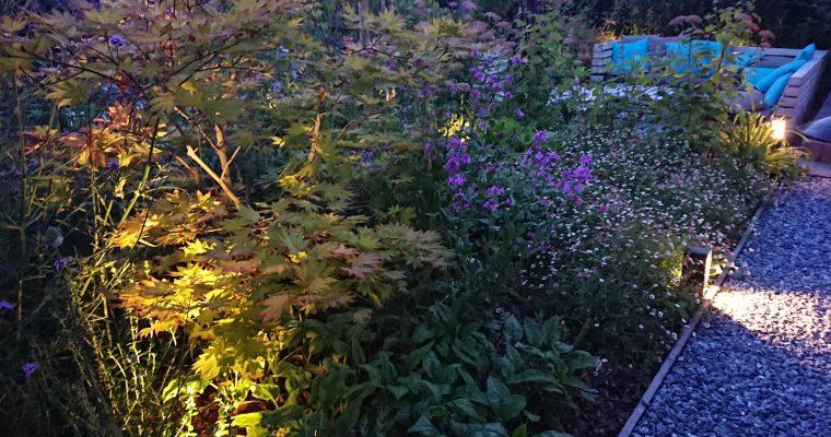 Subtiele, feeërieke tuinverlichting