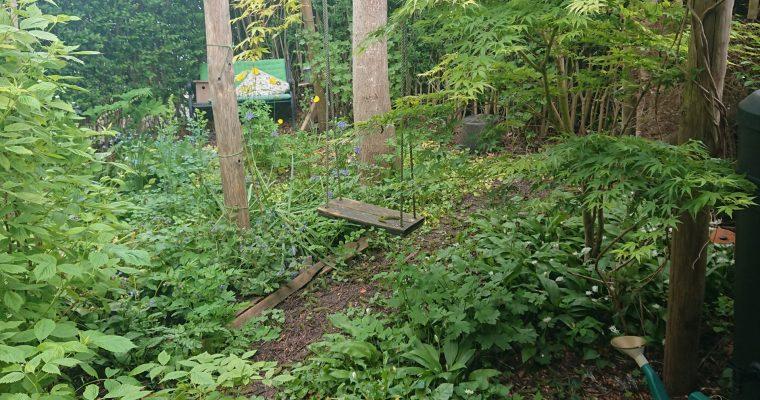 Natuurlijke kindvriendelijke tuin